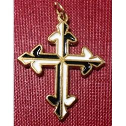 Dominican Cross 3,8 CM glazed
