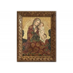 Madonna of humility on...