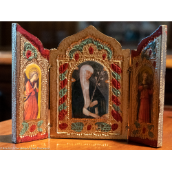 Triptych Santa Caterina....