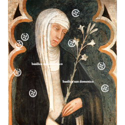 Saint Catherine of Siena...