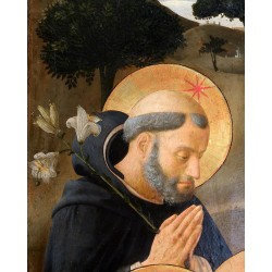 St. Dominic in prayer -...