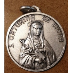Silver medal of Saint...